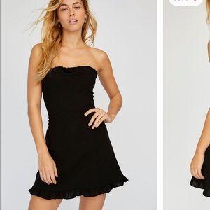 Free People Beat the Heat Strapless Mini Dress